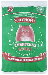 Наполнитель для кошачьего туалета, Сибирская Кошка древесный