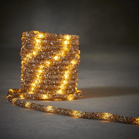 Дюралайт Luca Lighting коричневый свет (100 ламп, длина 500 см)
