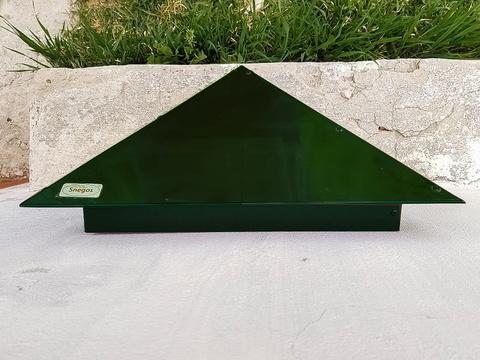 Колпак металлический на столб Эконом RAL 6005