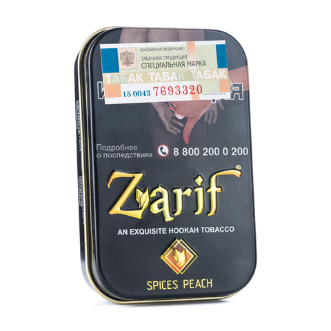 Табак Zarif Spices Peach (пряный персик) 50 г