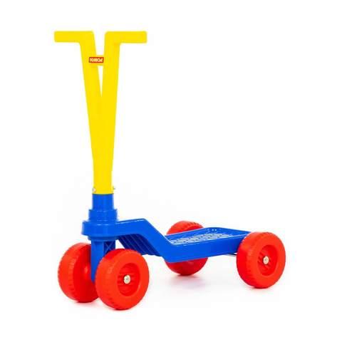 Самокат детский 4-х колесный (40х22,5х47 см.), Полесье, 56085