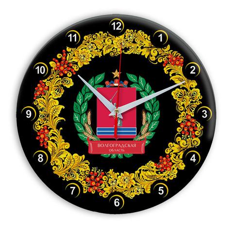 Часы в стиле Хохлома сувенирные Волгоград oblast 03