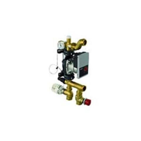 Насосно-смесительный блок Push 23-B-W Uponor Fluvia T
