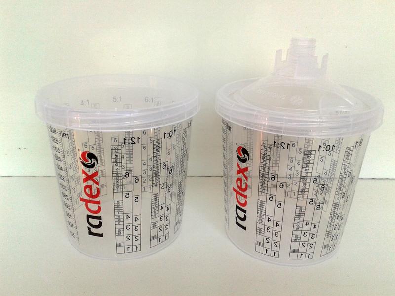 Одноразовые стаканы RADEX 750 мл