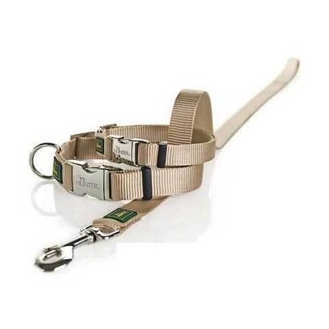 HUNTER Ошейник для собак нейлоновый с металлической застежкой ALU-Strong L/25 (45-65 см)