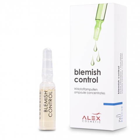 Концентрат для жирной и комбинированной кожи 7x1,5 мл - Alex Blemish control 7*1,5 ml