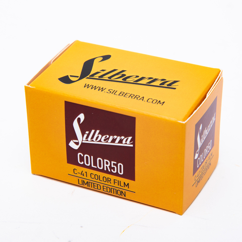 Silberra COLOR 50 C-41 ISO160/135-36