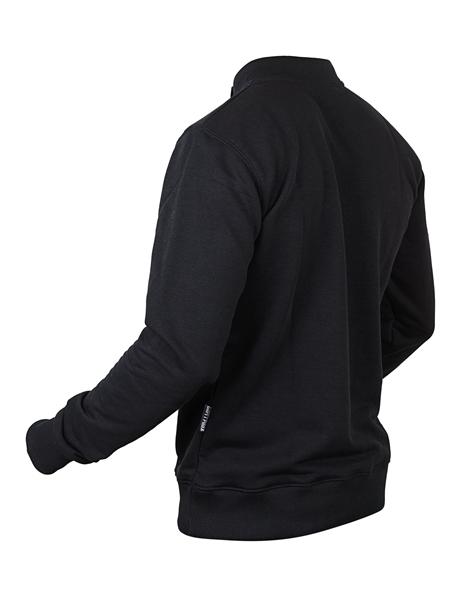 Косоворотка-свитшот Варгградъ мужской чёрный