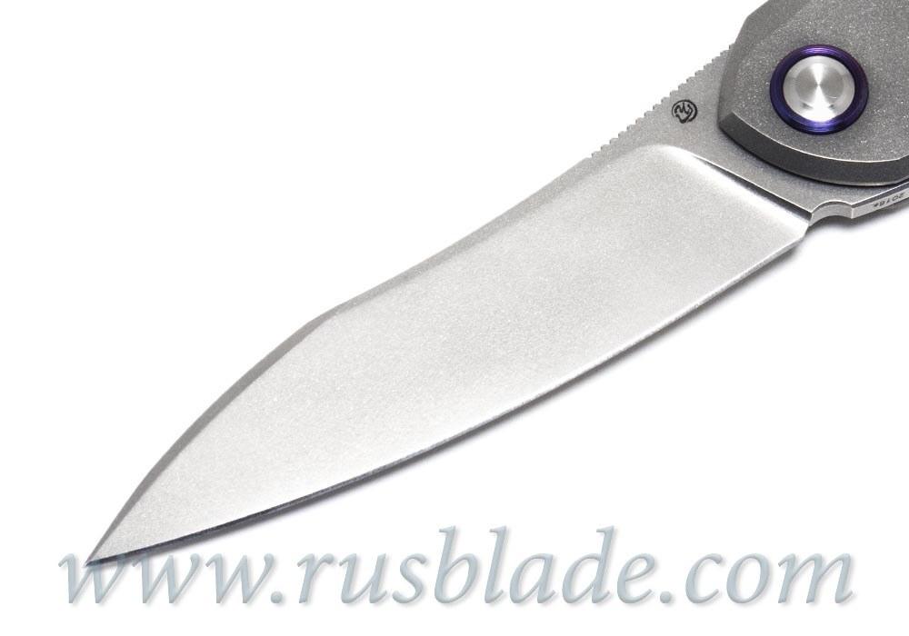 Cheburkov Russkiy M390 folding knife Best Russian Knives - фотография