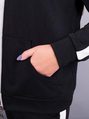Люсі. Спортивний костюм size plus. Чорний.