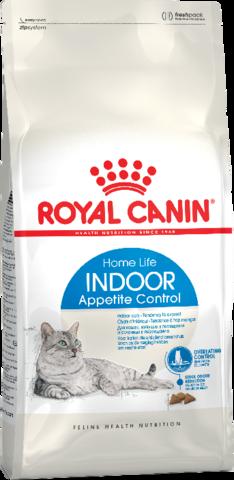 Royal Canin Indoor Appetite Control для взрослых кошек склонных к перееданию