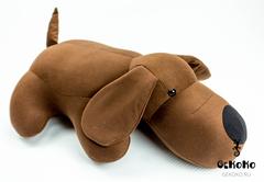Подушка-игрушка антистресс Gekoko «Мохнатый Патрик Коричневый» 8