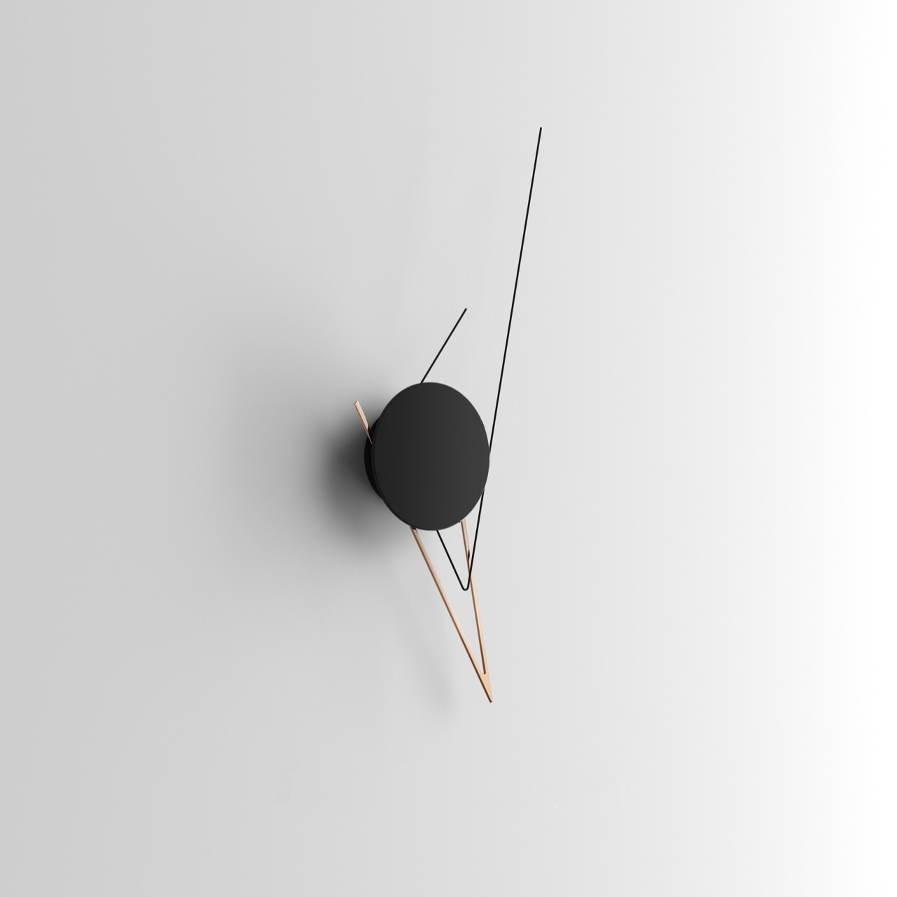 Beyond Object Настенные часыSilo Clock Copper