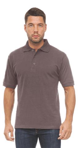 Рубашка ПОЛО серая