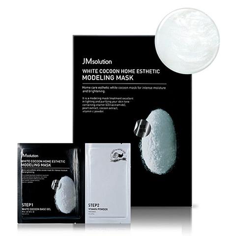 JMsolution White cocoon home esthetic modeling mask