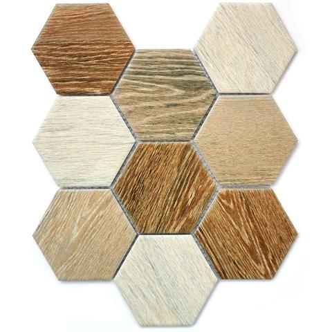 Мозаика керамическая Wood comb