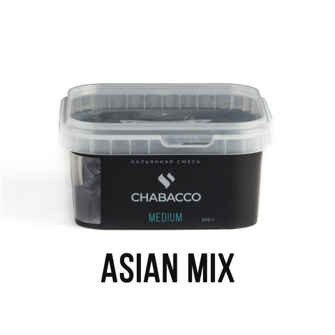 Чайная смесь Chabacco Medium 200 г - Asian Mix (Азиа Микс)