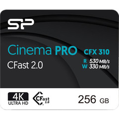 Карта памяти Silicon Power 256GB Cinema PRO CFX 310 CFast 2.0