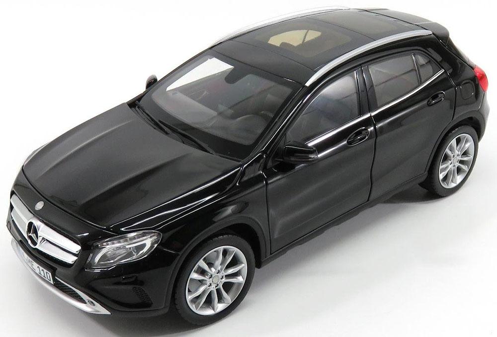 Коллекционная модель Mercedes-Benz GLA-Classe (X156) 2014 Black