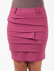 0533-1 юбка розовая