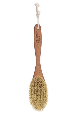 YOZHIK Щётка для сухого массажа (класс XL, натуральное волокно тампико)_4