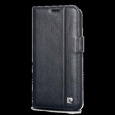Pierre Cardin / Чехол-книжка для телефона Galaxy S9 | Черный