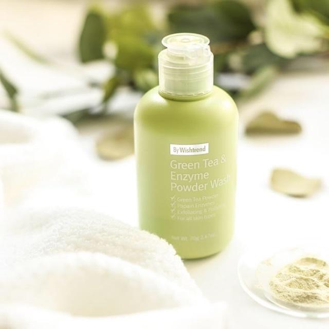 By Wishtrend Green Tea & Enzyme Powder Wash энзимная пудра с зелёным чаем 70г
