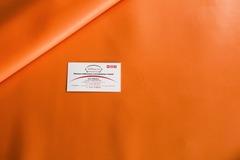 Искусственная кожа 29 оранжевый 4636