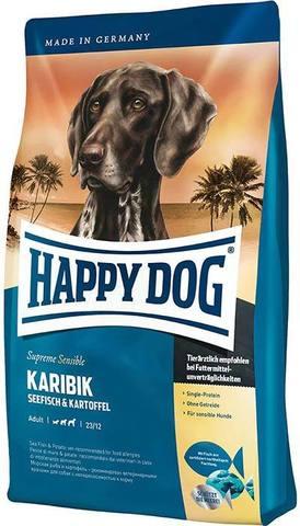 12,5 кг. HAPPY DOG - Сухой корм для собак всех пород с морской рыбой - Supreme Sensible Nutrition Karibik