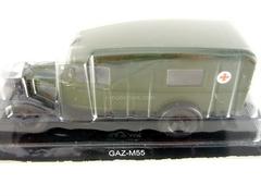 GAZ-55 Military Sanitary Service USSR 1:43 DeAgostini Service Vehicle #24