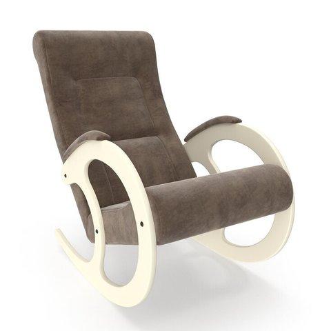 Кресло-качалка Комфорт Модель 3 дуб шампань/Verona Brown
