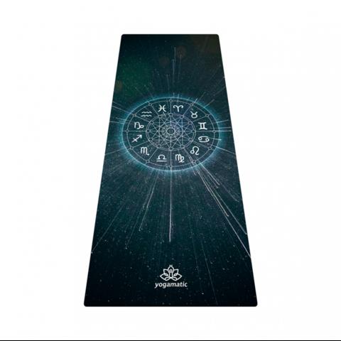Коврик для йоги Zodiac из микрофибры и каучука