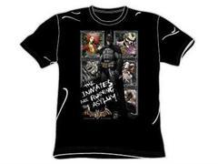 T-Shirt - Arkham Asylum Running the Asylum