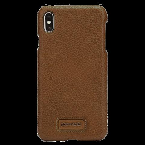 Pierre Cardin / Чехол для телефона iPhone Xs Max | Коричневый