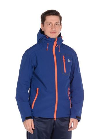 Куртка softshell синего цвета