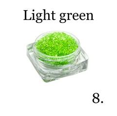 Хрустальная крошка(мелкая) зеленая 8