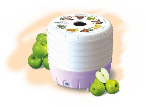 Сушка для фруктов и овощей Ротор Люкс СШ-023 5под. 350Вт белый