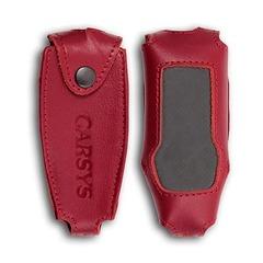Кожаный чехол для толщиномера CARSYS DPM-816 (красный)