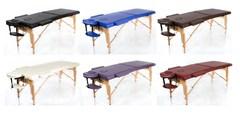 Массажный стол деревянный 2-хсекционный RESTPRO Classic 2