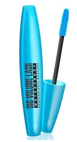 EVELINE Тушь для ресниц Big Volume Lash водостойкая синий футляр  9мл