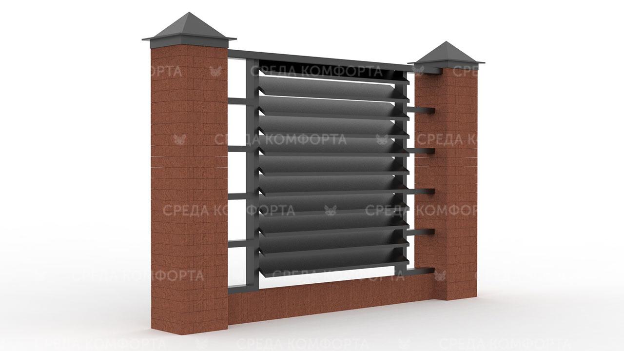 Забор жалюзи ZBR0135