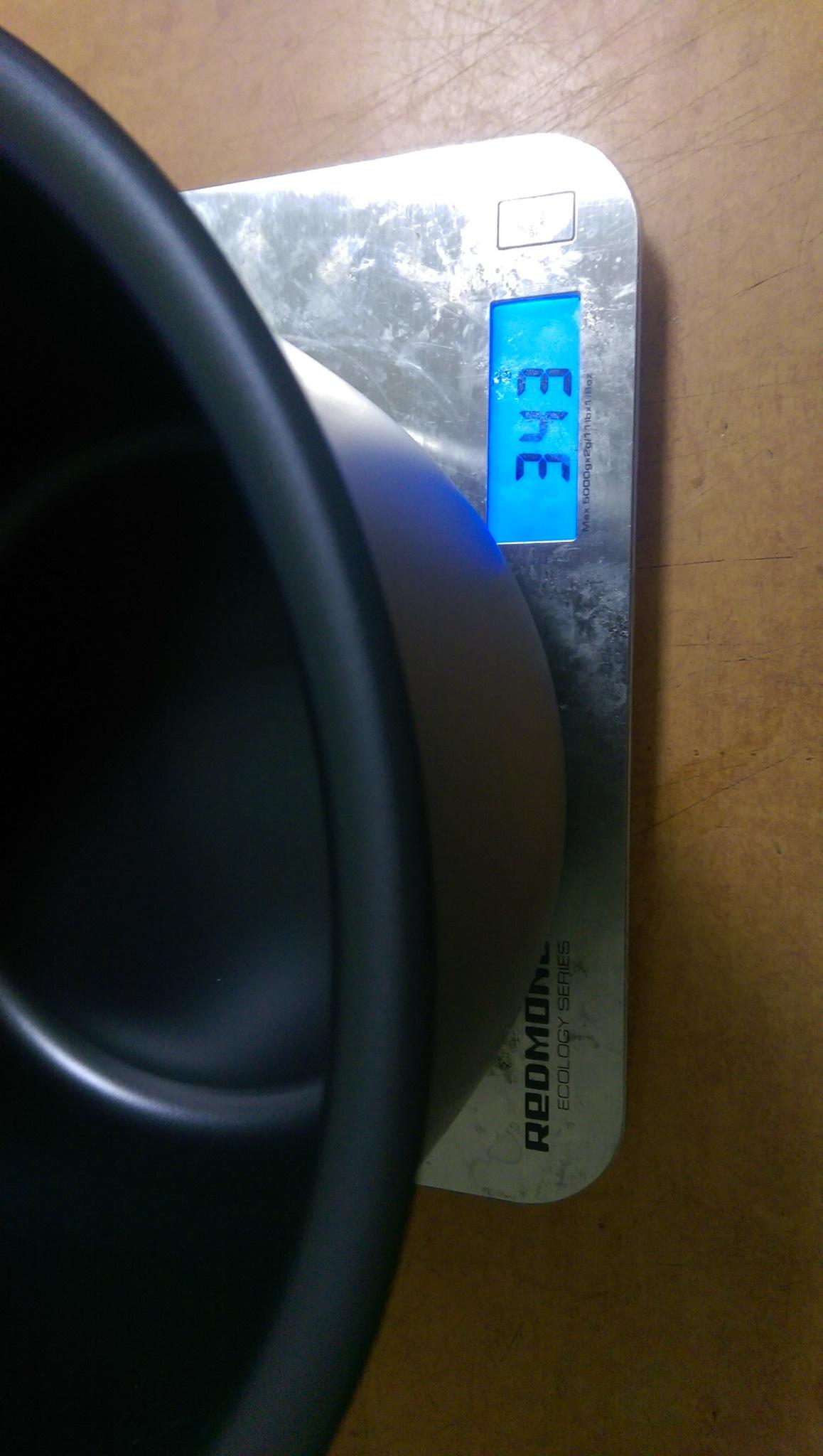 Мультиварка Panasonic SR-DY181WTQ Вес чаши составляет 343 грамма