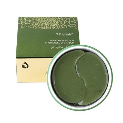 Trimay Alligator & Cica Hydrogel Eye Patch универсальные успокаивающие патчи с маслом аллигатора и центеллой