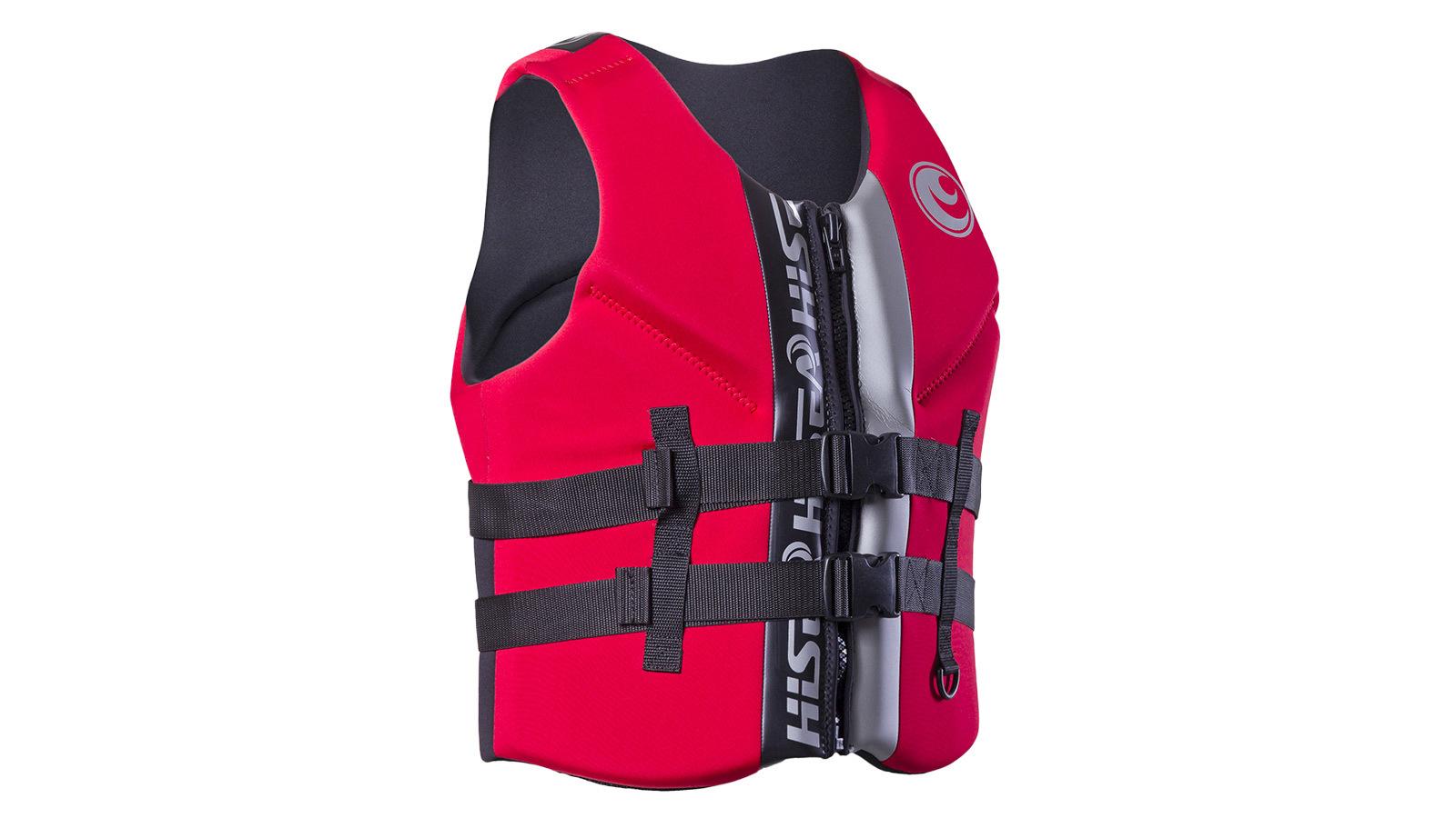 Плавательный жилет HiSEA красный