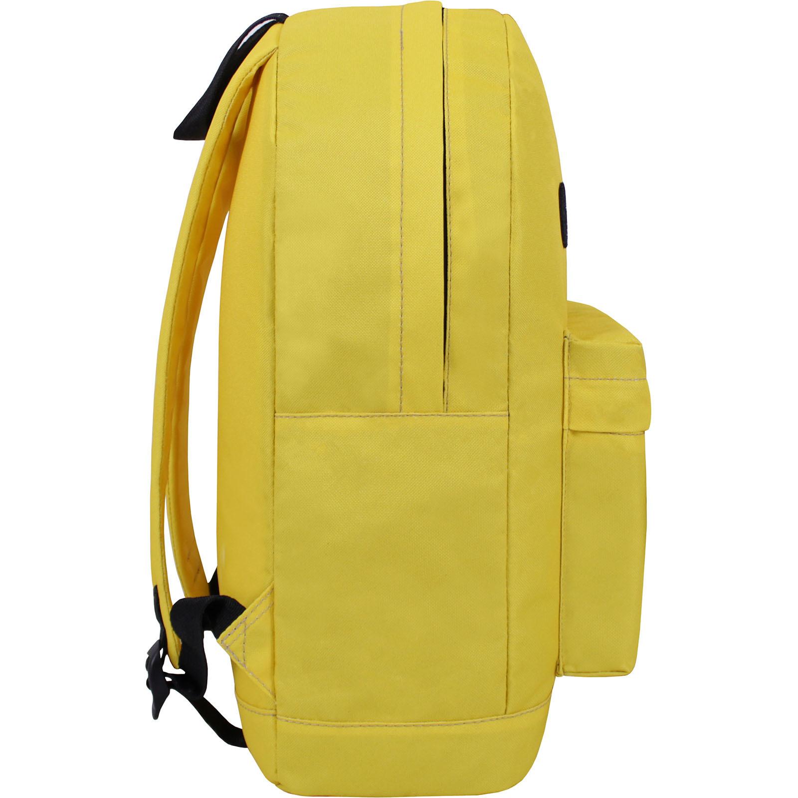 Рюкзак Bagland Молодежный W/R 17 л. Лимонный (00533664 Ш) фото 6