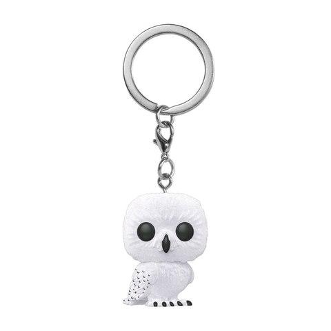 Брелок Funko Pocket POP! Keychain: Harry Potter: Hedwig (FL) (Exc) 41031-PDQ