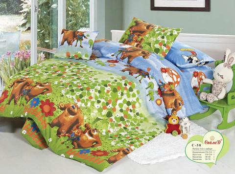 Детское постельное белье СайлиД C-58