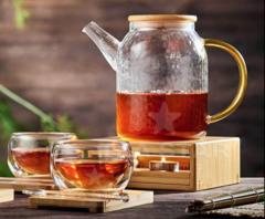 """Чайник заварочный """"Меркурий"""" в наборе с подставкой и чашками"""