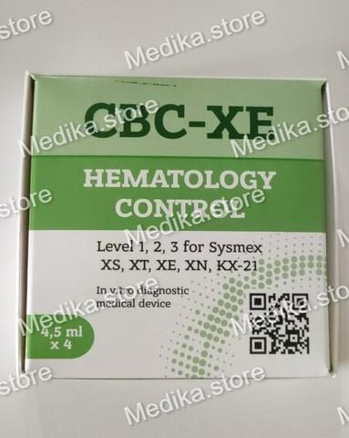Гематологический  контроль CBC-XEH (высокий уровень) для XS 800/1000i, XT-1800/2000/4000i, XE-2100/5000