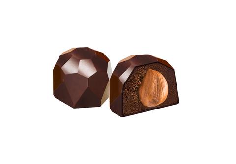 Шоколадные конфеты на финиковом пекмезе с Фундуком, 60 г